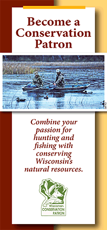Conservation patron license wisconsin dnr for How much is a wisconsin fishing license