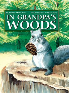 In Grandpa's Woods book cover