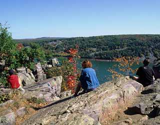 Fall at Devil's Lake