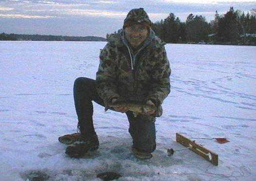 Outdoor report for december 4 2008 wisconsin dnr for Idaho ice fishing report
