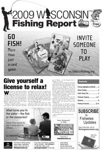 Weekly news march 17 2009 wisconsin dnr for Wisconsin dnr fishing report