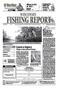 Weekly news march 23 2010 wisconsin dnr for Wisconsin dnr fishing license online