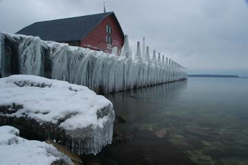 Ephriam ice dock