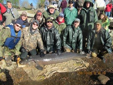 Winnebago systems sturgeon spearing license deadline oct for Big 5 fishing license