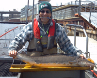 Milwaukee River sturgeon