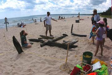 Whitefish Dunes shipwreck