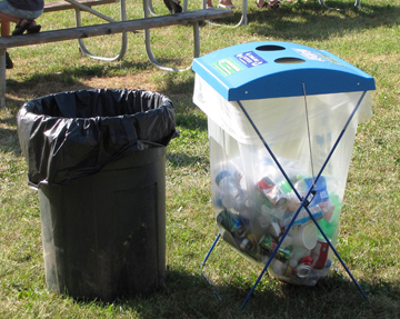 For summer fairs, recycling success starts with winter planning