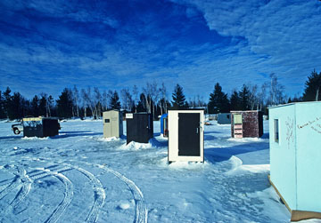 Deadlines approach for ice fishing shelter removal for Minnesota fishing license age