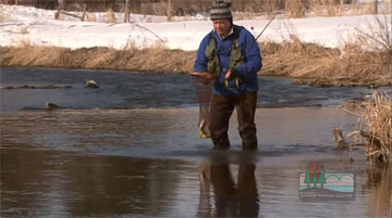Yes, it's cold, but Wisconsin's best trout waters remain ice-free