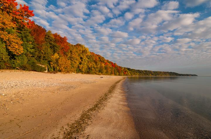 "Chris Gaziano's ""Morning Colors"" was taken in Whitefish Bay, Wis."