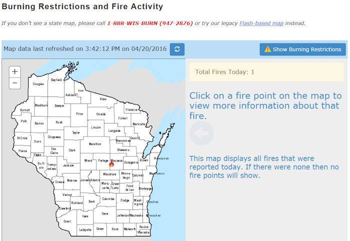 Wildfire website