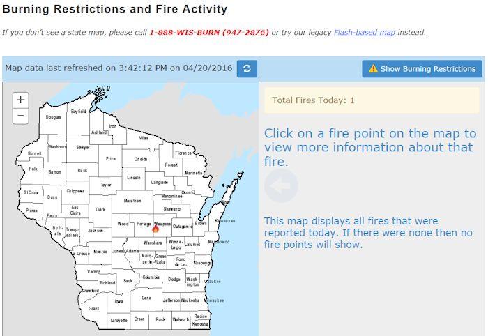 Wildfire website