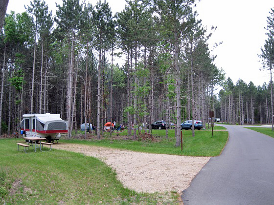 A new 60-unit campground now open at Buckhorn state park will have be celbrated Sunday June 5 at 10 a.m.