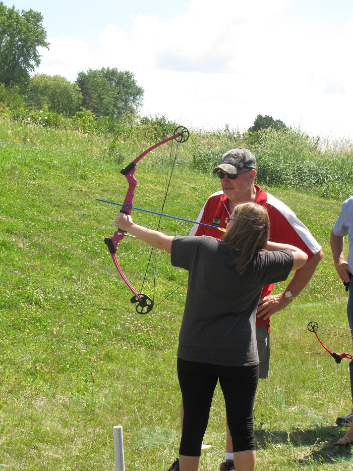Horicon is the perfect place to learn more about archery!)