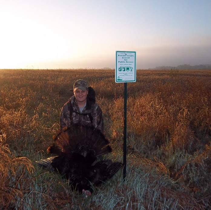 Public lands are the perfect place to pursue turkeys this spring.