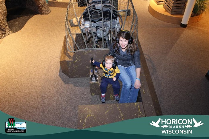 Have you ever driven an airboat? Head to the Horicon Marsh Explorium and explore the virtual marsh!