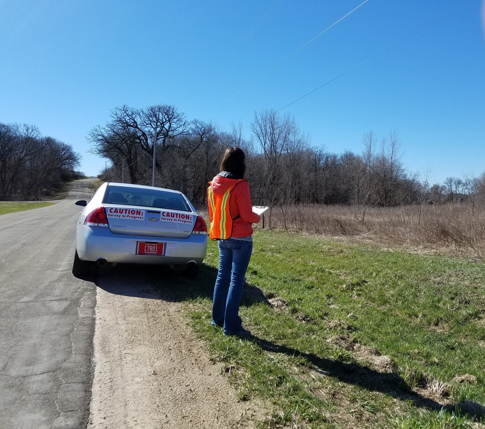 DNR staff and voluteers complete spring and summer surveys to learn more about Wisconsin's pheasants, ruffed grouse, and frogs, and many other species.
