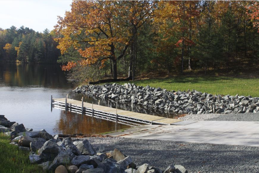 The new Kingsford Flowage boat launch is expected to draw additional visitors to the area thanks to easier access to the local fishery. Environmentally protective features including stormwater collection and infiltration elements were incorporated into the design.