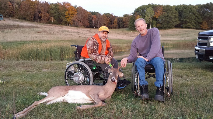In 2016, more than 70 landowners in 48 counties enrolled roughly 79,000 acres of hunting land to provide opportunities for over 400 participants to take part in the gun deer hunt for hunters with disabilities.