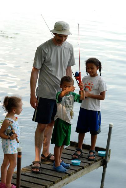 Fishing licenses are not needed to fish on Free Fun Weekend and more than 20 fishing clinics are held statewide.