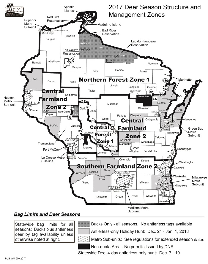 Natural resources board approves 2017 deer harvest quotas for Wisconsin dnr fishing license online