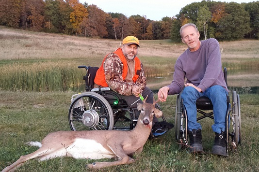 The deadline to sign up to host a hunt for deer hunters with disabilities is Sept. 1