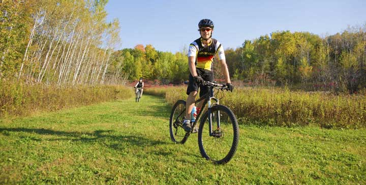 The next two areas to be studied for recreational opportunities include popular properties like the Kettle Morain State Forest-Southern Unit, where mountain biking has become extremely poplular. - Photo Credit: Wis. Dept. of Tourism