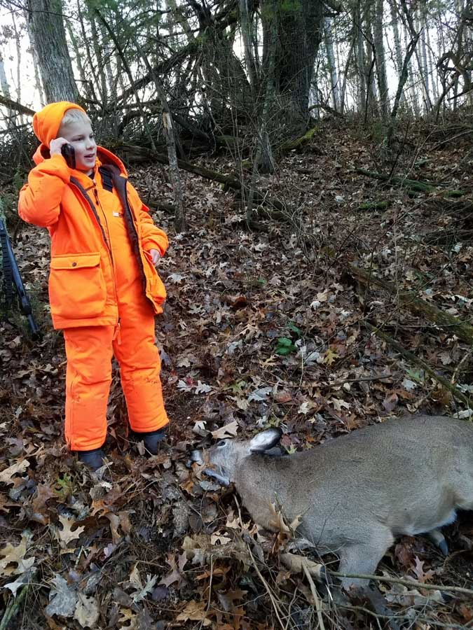 Hunters shared their photos from the field on the Department of Natural Resources Facebook page, and a number of great stories show why hunting is so special to Wisconsin - Photo Credit: Contributed through DNR Facebook page