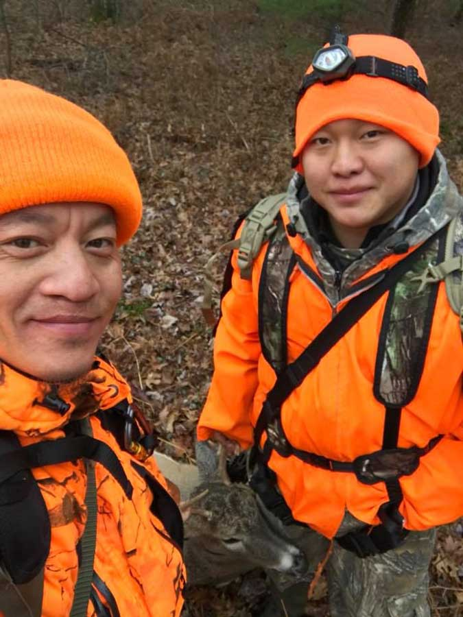 Hunters continue to use social media to share their experience in the woods with DNR staff and fellow outdoor enthusiasts. - Photo Credit: DNR Facebook contributed photo