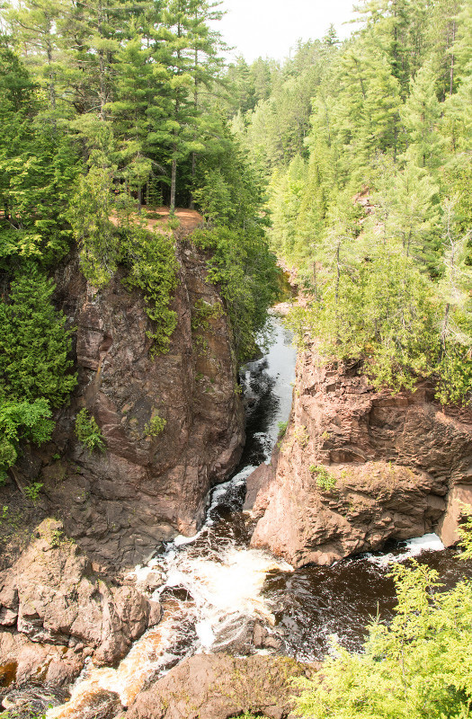 Copper Falls State Park is one of the properties included in the master planning process for the ecological landscape. - Photo credit: DNR