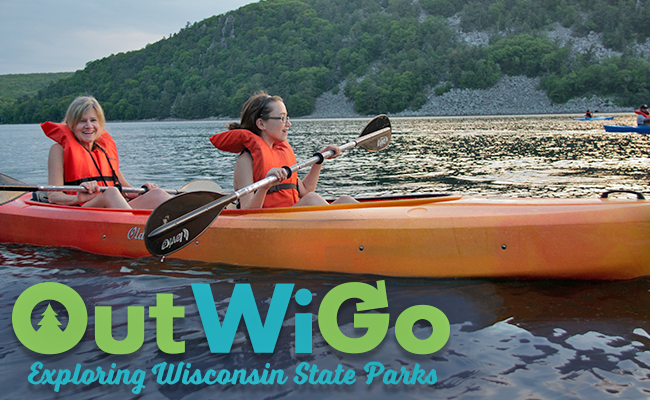 Wisconsin State Parks are encouraging people to stay fit and healthy in the outdoors. - Photo credit: DNR