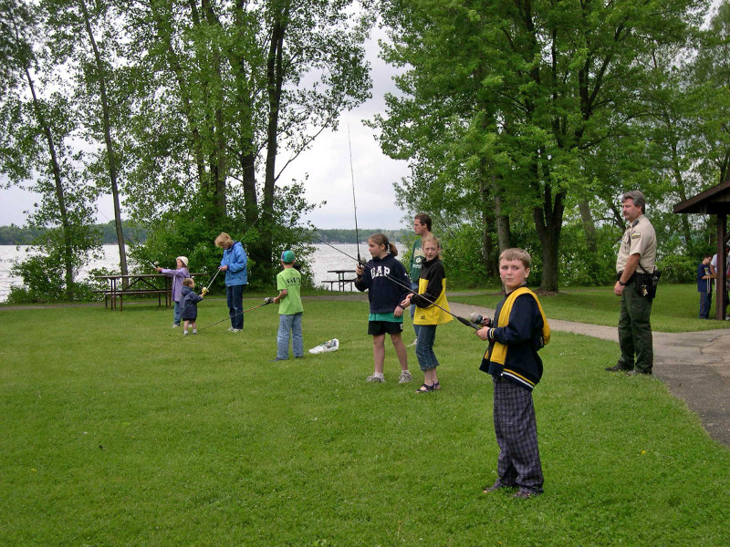 On June 2 and 3 people can get a double discount on fun by attending one of the fishing clinics being held at a Wisconsin State Park. - Photo credit: DNR