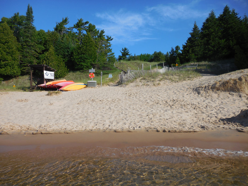 Whitefish Dunes State Park is one of the properties included in the Northern Lake Michigan Coastal regional master plan. - Photo credit: DNR