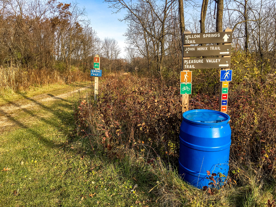 Trail use is one of the recreational areas that will be addressed through the master planning process. - Photo credit: DNR