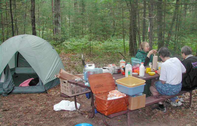 Beginning this May, campers will be able to make same day reservations at 15 state parks. - Photo credit: DNR