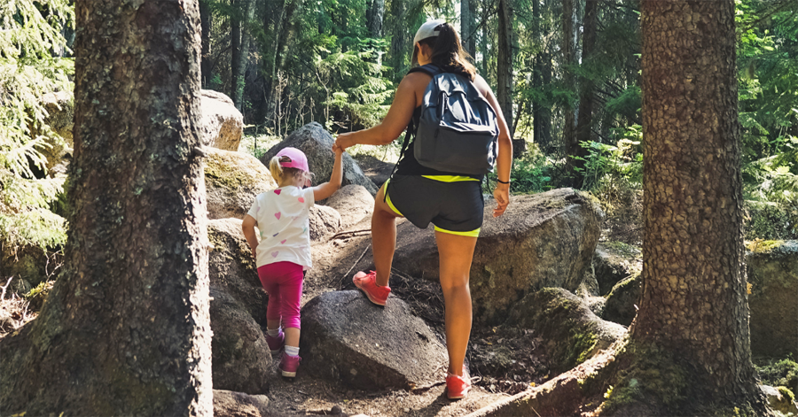 Tips for hiking, camping and enjoying other outdoor activities with kids will be among the topics available at OutWiGoGirls. - Photo credit: DNR