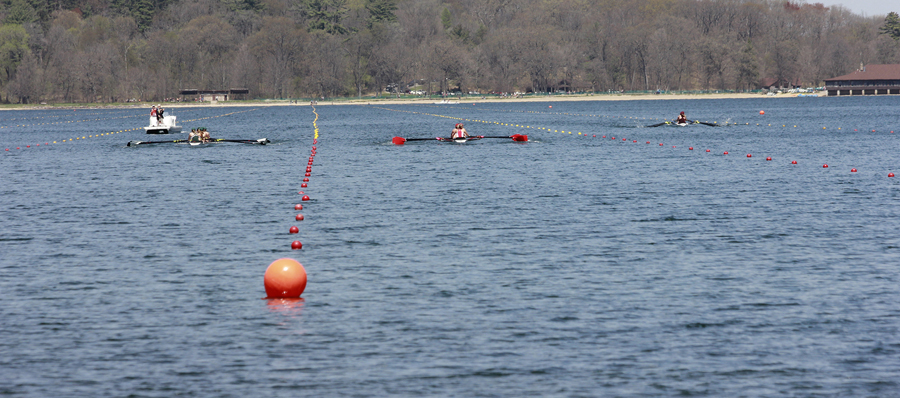 The Big Ten Rowing Championship will be held May 19 at Devil's Lake State Park, resulting in some land and water closures that weekend. - Photo credit: UW-Madison