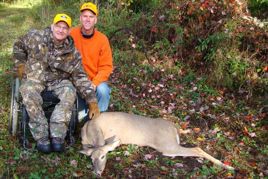 June 1 deadline to sponsor 2019 Gun Deer Hunt for Hunters with Disabilities  - Photo credit: DNR