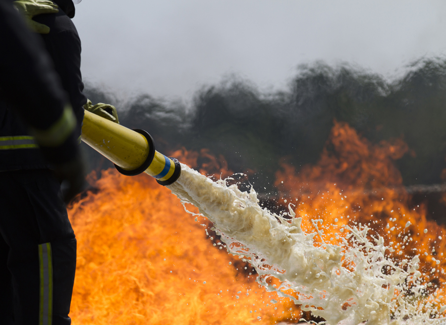 PFAS are a group of human-made chemicals used for decades in numerous products including certain types of firefighting foam.  - Photo credit: Contributed