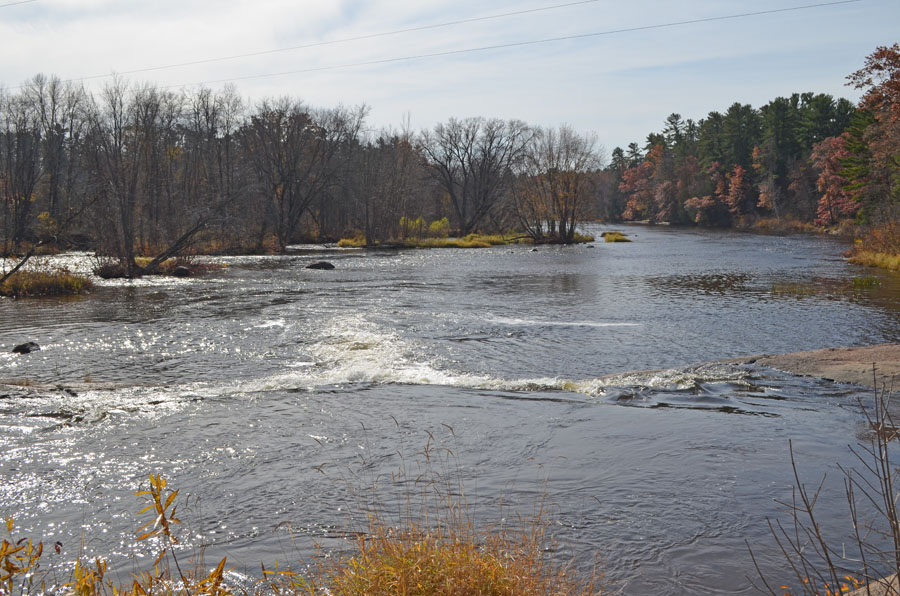 The public has an opportunity to review and comment on a draft Wolf River Water Resources Management Plan for the project area running from Keshena Falls to the Shawano Dam - Photo credit: DNR