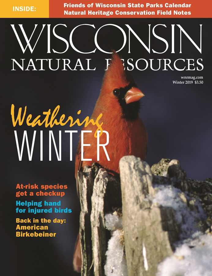 <i>Winter Wisconsin Natural Resources</i> magazine - Photo credit: DNR