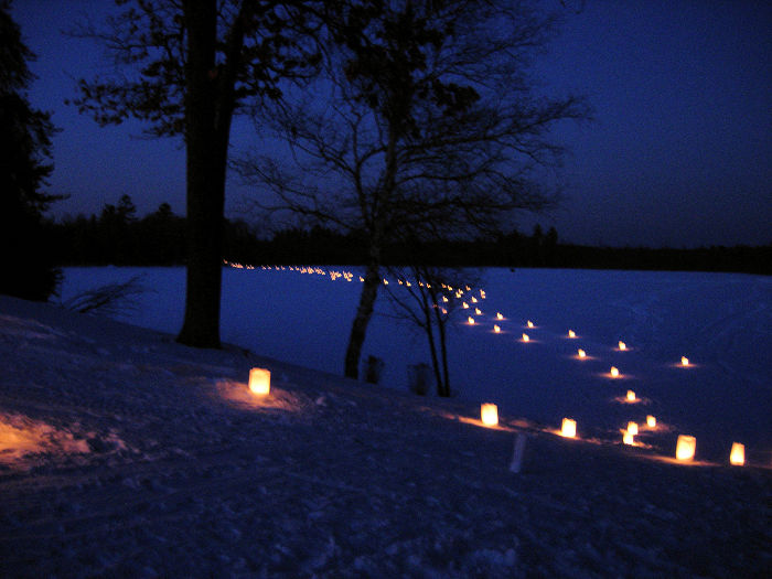 Candlelight events are fun for the whole family! - Photo credit: DNR