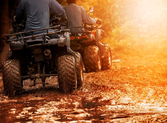 Labor Day weekend is expected to be a busy time on ATV/UTV trails and road routes as many celebrate this final weekend of summer.  - Photo credit: Wisconsin DNR