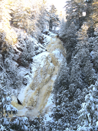 Big Manitou Falls - Pattison State Park
