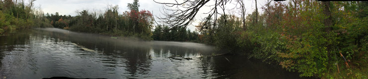Mist on the Brule