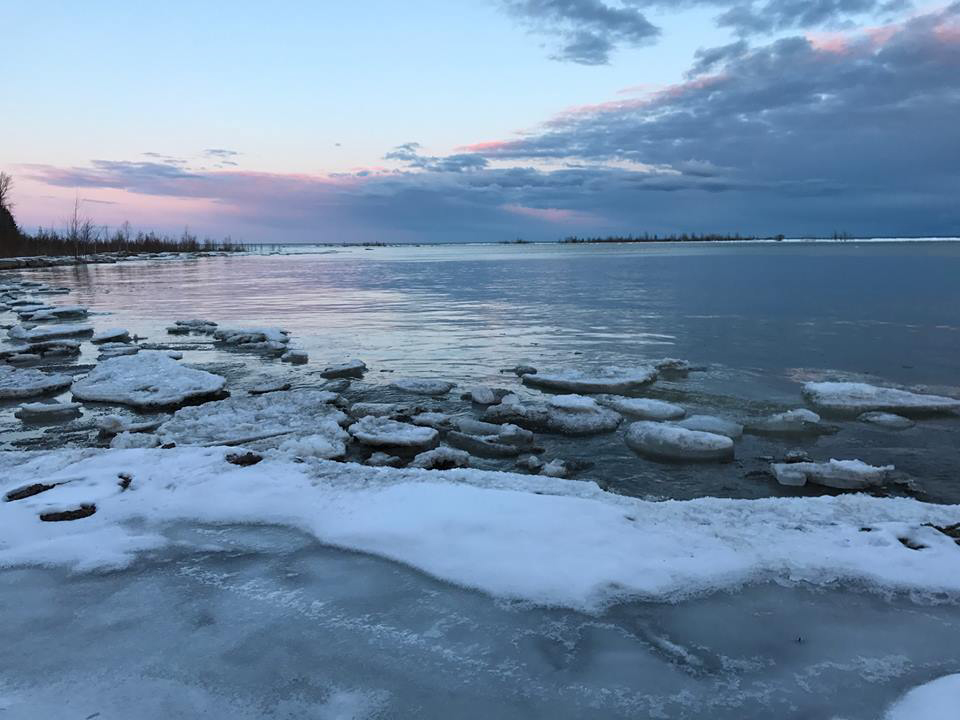 The view of Green Bay from Newport State Park in Door County. - Photo credit: DNR