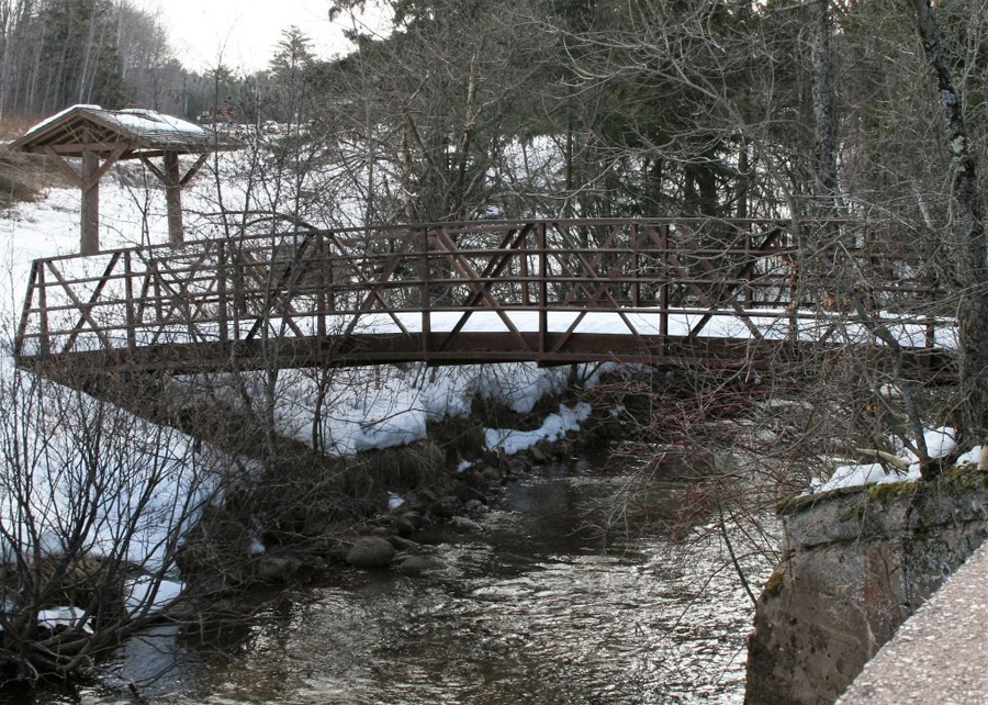 The Bois Brule River is open and ready for the March 31 steelhead opener. - Photo credit: DNR