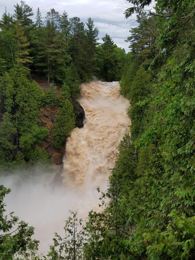 Big Manitou Falls - Photo credit: Gervase Thompson