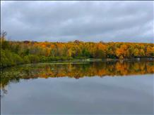 Stevens Lake in Florence County Fall 2018 - Luke Ernster