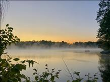 Ellwood Lake Sunrise in Florence Co by Luke Ernster
